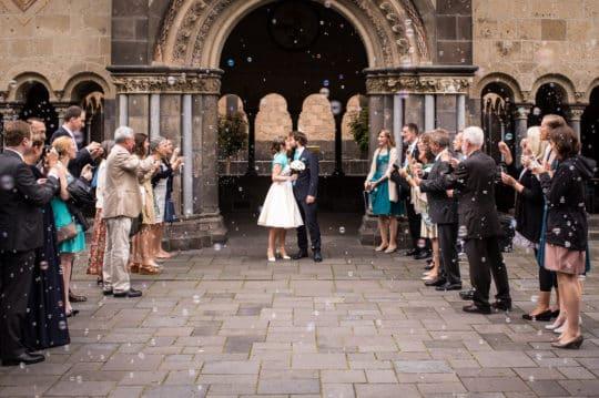 Hochzeitsfotograf Abtei Maria Laach, Hochzeitsportrait
