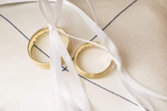 Hochzeitsfoto Details Ringe Königswinter